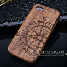 New Style Bamboo Traditional sculpture Wood Hard Back Wooden Case Cover phone Case for iphone 5C Hight Quality