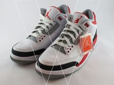 huge discount 48779 09b4c Learn how to spot fake Nike Air Jordan 3 Retro s with this detailed 14  point step-by-step guide by goVerify. goVerify · Spot Fakes on eBay