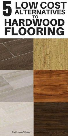 DIY Home Improvement Ideas 5 low cost alternatives to hardwood flooring. House Painting Cost, Alternative Flooring, House Paint Interior, Interior Design, Waterproof Flooring, Décor Boho, Stained Concrete, Diy Home Decor Projects, Do It Yourself Home