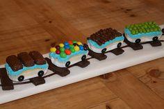 Homemade train birthday cake sweet table Pinterest Birthday