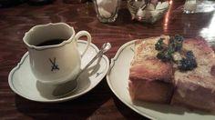 ミンガスコーヒー/フレンチ、チーズトースト(2015/1/31)