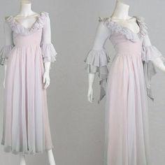 1970s evening gowns | Fashion: Vintage | Pinterest | Gonne ...