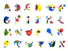 Miro Typeface - school project 2012 ( FREE download ) by Ana Hoxha