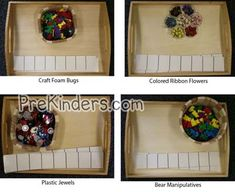 Pattern-manipulatives.  This is a great way to use manipulatives.  This would be a hands on approach learning and creating manipulatives.