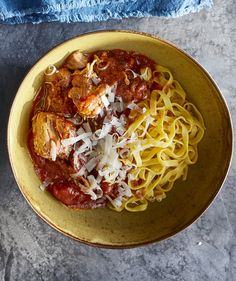 You may be used to making Bolognese with ground beef, but a mixture of pork shoulder and sweet Italian sausage sets this version apart from any other you've tried before. And the best part? Unlike more traditional recipes, you don't have to stand over the stove all afternoon.