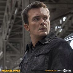 Rupert Friend as Peter Quinn in Homeland Season 5