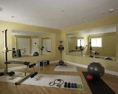 Home Gym Design, Pictures, Remodel, Decor and Ideas - page 15