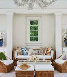 The Start of Summer  {Aerin Lauder's Beautiful Southampton Home}