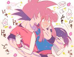 Dragon Ball Z, Dragon Z, Manga Anime, Anime Art, Dbz Memes, Cartoon Games, Chi Chi, Cool Artwork, Sketches