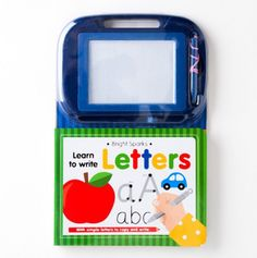 Learn To ... write letters . Also comes in numbers and drawings of various things. I think at $5.50 these books are a steal!