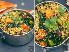 #vegan Sweet Curried Freekeh Salad | vegan miam