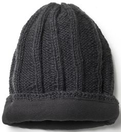 Mens Wengen Baggy Beanie - Charcoal - Pachamama