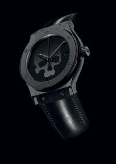 Sweet Watch. Hublot Big Bang Skull Watch.