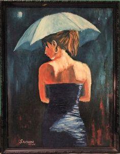 Lady in Umbrella by sachin-kaushik.deviantart.com on @DeviantArt
