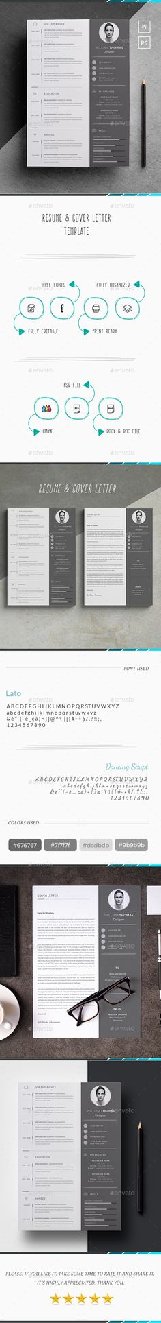 Resume Template PSD, AI, MS Word Resume Templates Pinterest - awesome resumes templates