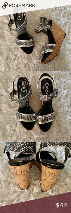 REDUCED Sam Edelman PAISLEY Sequin Ankle Strap Platform $150 Silver Pewter