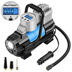 Digital Tire Inflator ,AUTOWN Portable Air Compressor Pump - 12V DC Tire Pump, Auto Shut Off #Digital #Tire #Inflator #,AUTOWN #Portable #Compressor #Pump #Pump, #Auto #Shut