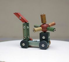 Knopke  handmade ecological wooden constructor toy by KnopkeToys