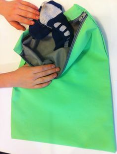 On the go? Store socks or other clothing accessories in our odor-fighting bags to keep odors under control.