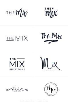 The Mix By Tara - Logos R1