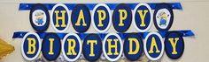 Despicable Me Birthday Party Banner *** DIY idea, not tutorial