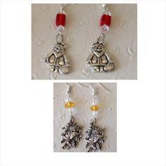A personal favorite from my Etsy shop https://www.etsy.com/ca/listing/508674175/christmas-earrings-santa-earrings-bell