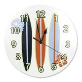Found it at Wayfair - Surf's Up Wall Clock