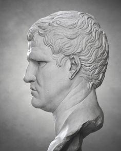 | Marcus Agrippa | Ancient Rome, Ancient Greece, Ancient Art, Roman Sculpture, Sculpture Art, Sculptures, Ancient Roman Clothing, Roman Era, Cultura General