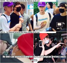 Fact : BTS works as BTS' managers and guards.