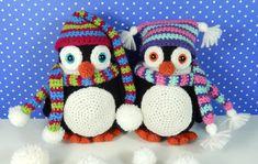 Pendleton y pingüino de Penelope patrón de por mojimojidesign