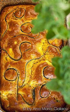 Parmesan Zucchini Cake