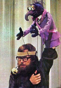 Jim Henson and Gonzo    muppetmusic:    (via fyeahmuppeteers)