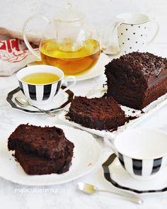 Mega Czekoladowe Proste Ciasto z Bananami - PRZEPIS - MC Oreo, Desserts, Foods, Yoga, Cakes, Diet, Food Cakes, Tailgate Desserts, Food Food