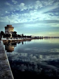 My hometown Thessaloniki, Macedonia Greece Places Around The World, Oh The Places You'll Go, Places To Travel, Places To Visit, Around The Worlds, Wonderful Places, Beautiful Places, Beautiful World, Pays Europe