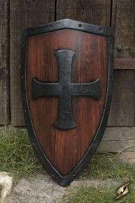 Templar Latex wood Shield