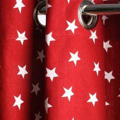 Un rideau 100% coton. En 240 x 140 cm : 75 €. Rideau Star. Zef. http://zef.eu/