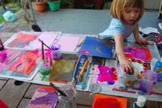 Learning to Let Go - a great idea about letting children lead the way in arts and crafts!