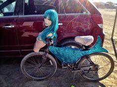 mermaid bike - Google Search