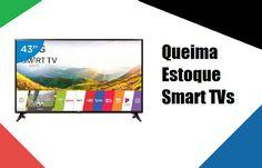 Queima Estoque Smart TVs - Menor Preço nas Lojas Virtuais