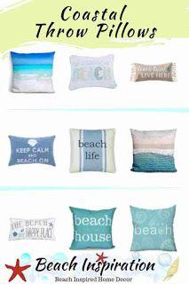 50 Decorative Coastal Throw Pillows For Living Rooms Coastal