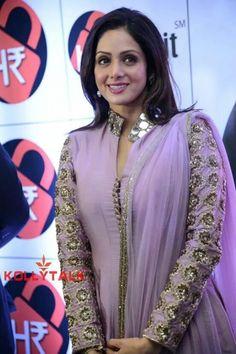 Sridevi New Stills-sridevi Stills - -telugu Actress Hot Photos Salwar Suit Neck Designs, Dress Neck Designs, Ethnic Outfits, Indian Outfits, Indian Attire, Indian Wear, Gown Party Wear, Anarkali Dress, Anarkali Suits