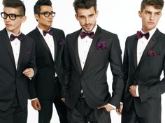http://chicerman.com  ilovemeninsuits:  Why wasnt I invited to this wedding? Such dapper men.  #MENSUIT #TAILORSUIT