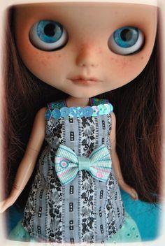 Custom ooak takara neo blythe doll bohemian by BlytheinWonderland, $450.00