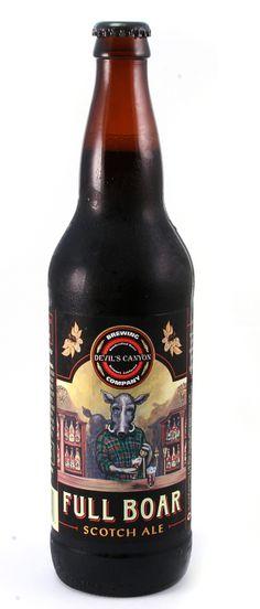 Devil's Canyon - Full Boar Scotch Ale
