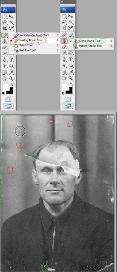 EXCELLENT Professional Photograph Restoration Workflow - Tuts+ Design & Illustration…