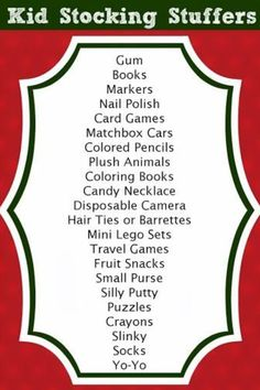 over 125 stocking stuffer ideas for all ages - views from the