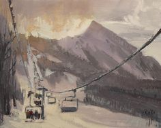 """Nicholas Reti - """"4th Chair"""" Available now at Oh-Be-Joyful Gallery in #CrestedButte"""