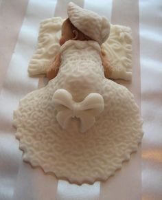 CHRISTENING BAPTISM Baby Girl Cake Topper by DinasCakeToppers, $17.00