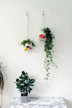 DIY Woven Hanging Planters   Fall For DIY