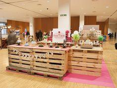 Interiores Oh La Vache Studio: Experiencias. Diseño de feria de repostería creativa: Cakes, Pops & Cookies